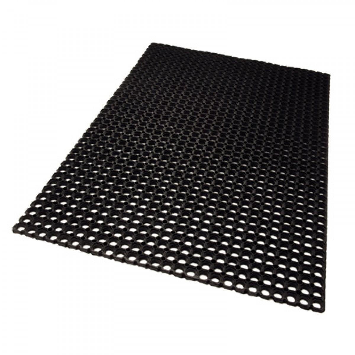 restaurant drainage interlocking mat durable kitchen industrial doormats door matting rm rubber link all inches en anti fatigue commercial purpose mats x area entrance floor