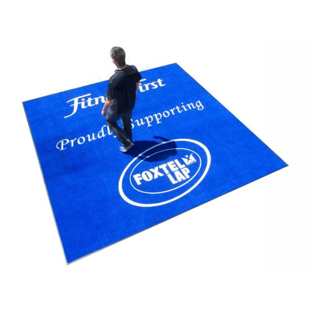 Premium Grade Logo Mats - (Carpet Top Printed) Mats